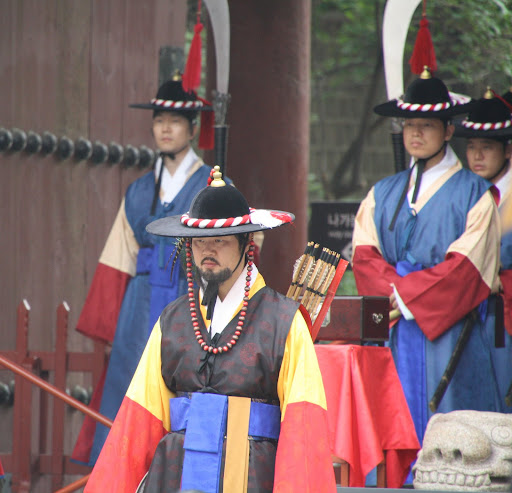 Changing of the guard at Deoksugung Palace