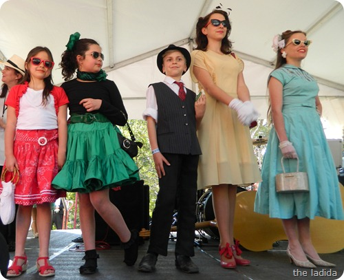 Fifties Fair Best Child Entrants