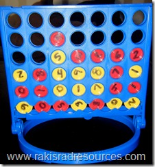 Use Connect 4 in your classroom 2 free, printable teacher resources