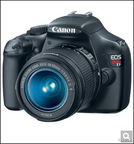 Canon EOS Rebel T3 Black SLR Digital Camera Kit W  18 55mm Lens  12.2 Megapixel   2.7  LCD   3.1x Optical Zoom   Optical   4272 X 2848 Image   PictBridge    Reviews   Prices   Yahoo  Shopping