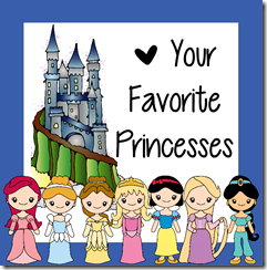 princess disny princess inspired worksheets