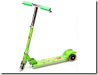 PayTM: Buy Flyers Bay My 10 Scooter (Green) at Rs. 899 + Extra 30% Paytm Cash