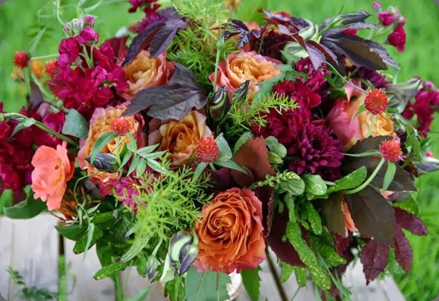 gomphrena Celebration_dinner_flowers _2013-08-03_09-26-47_IMG_1951 the moss & rose