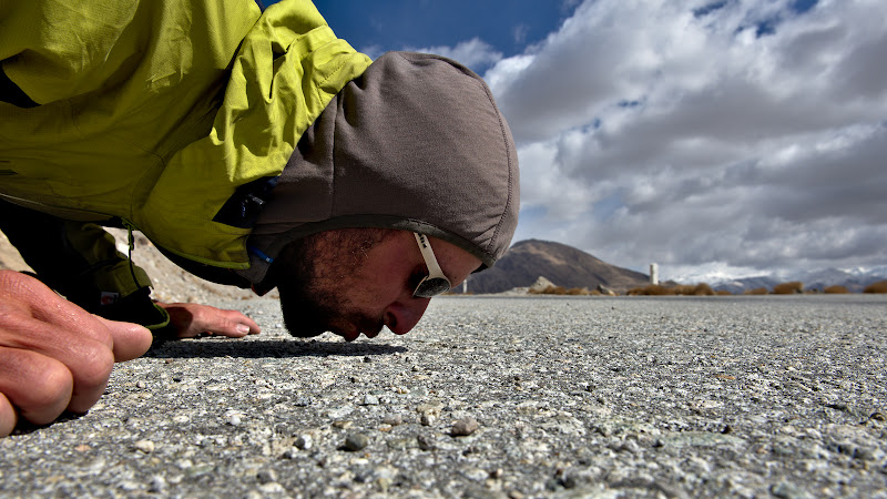 Prima intalnire cu asfaltul dupa multe vreme.
