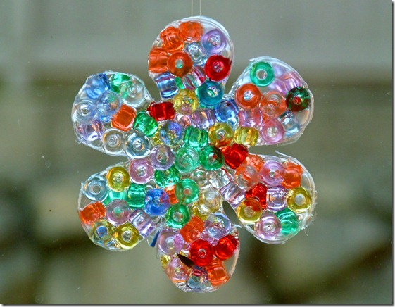 Pony Bead Sun Catcher 2