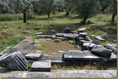 Euromos Temple of Zeus Altar Site