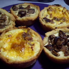Mini Sausage Quiche Appetizers