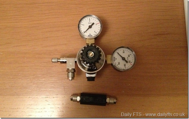 4-CO2 Regulator and Check Valve.39