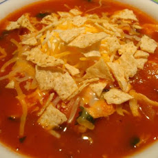 Cinco De Mayo Chicken Tortilla Soup