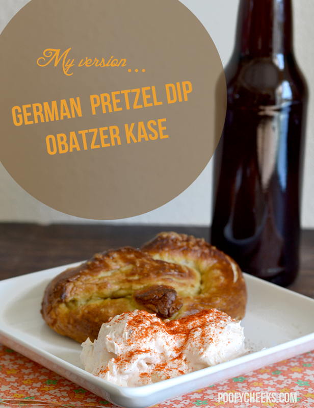 German Pretzel Dip - Obatzer Recipe