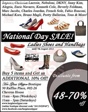 Her Glass Slipper National Day Sale 2013 All Discounts Offer Shopping EverydayOnSales