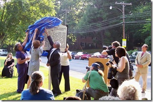 Unveiling of the Warren Co. High School & Massive Resistance Marker