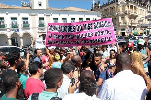 protesto mulheres Miss Bumbum 02