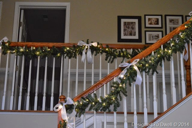 Christmas Banisters