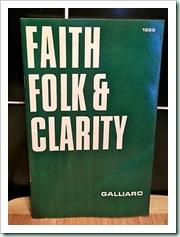 faith folk clarity