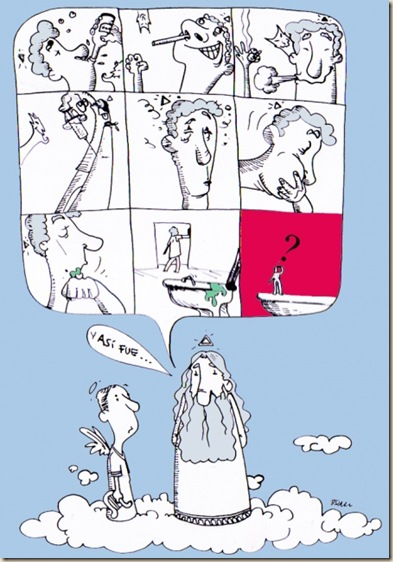 cielo paraiso humor ateismo biblia grafico religion dios jesus (14)