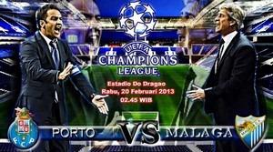 Prediksi Porto vs Malaga