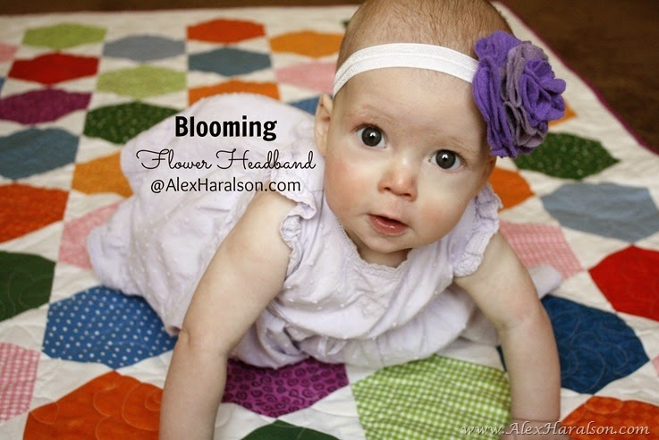 Blooming Flower Headband