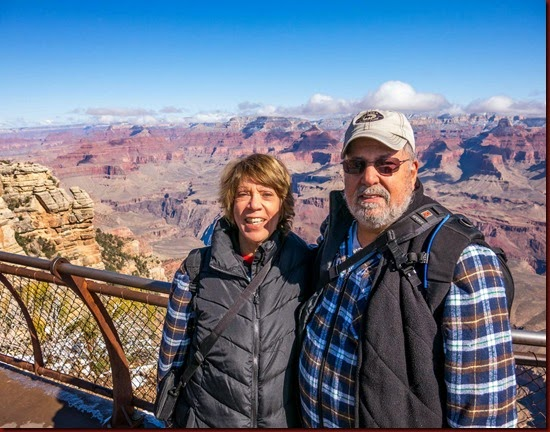 Ann and Roy at the Grand Canyon (1 of 1)