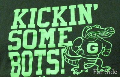Kickin some bots shirt