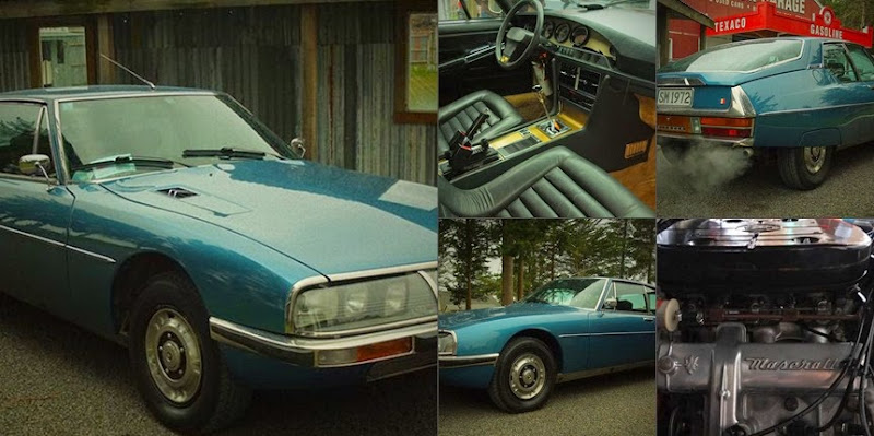 1972 Citroen Sm With Maserati Engine 100000 For Sale In New Zealand