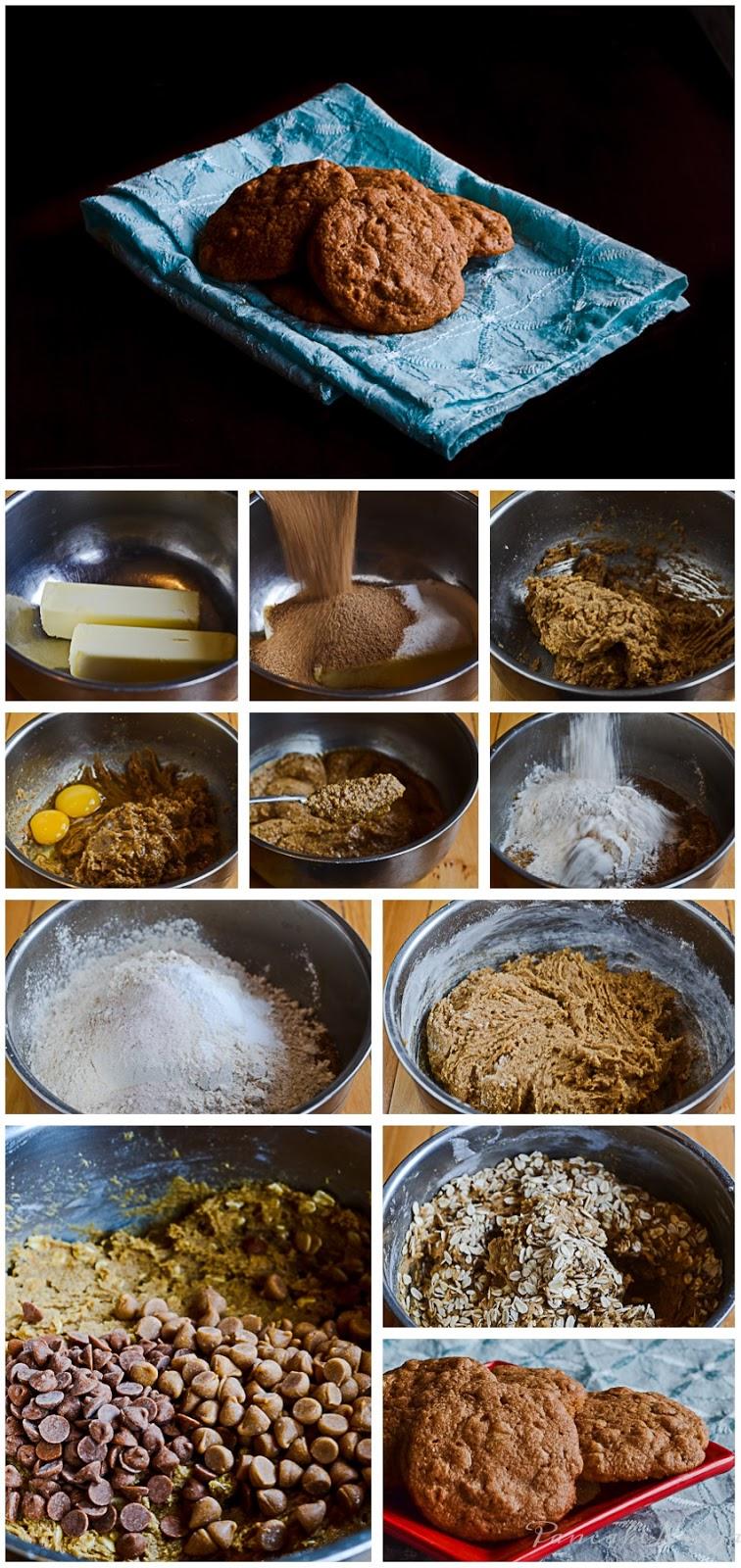 oatmeal cinnamon butterscotch chip cookies