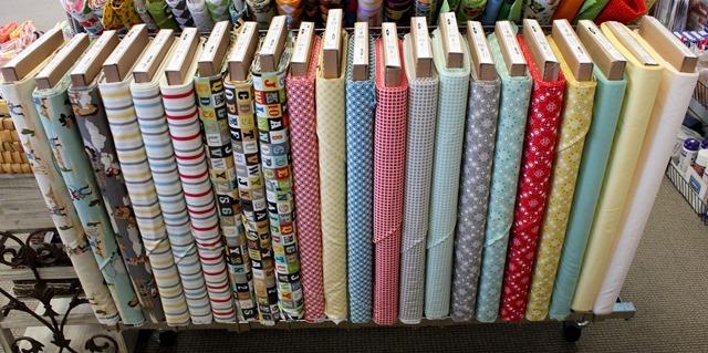 Sasparilla fabric from Riley Blake
