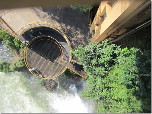 Cataratas do Iguaçu Brasil Garganta do Diabao Elevador Panorâmico