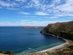 La Isla del Sol, Lake Titicaca.