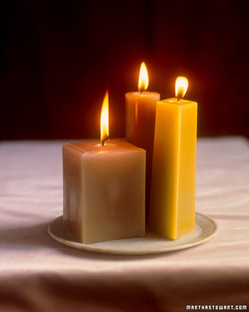 These molded candles are gorgeous. Crafts stores offer a wide array of candles molds that usually come with instructions on the gauge of wicking and amount of wax required.