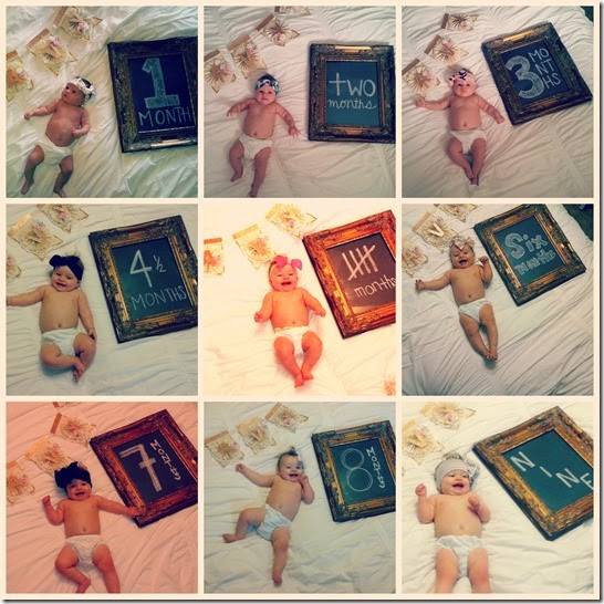 Navy 9 month collage