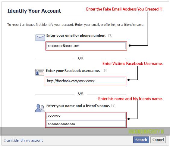How to Delete Strangers Facebook Account