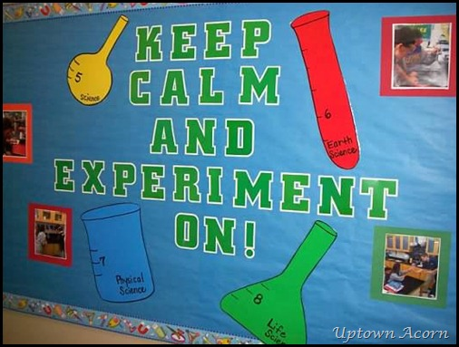 Science Charts For Classroom Decoration ~ The uptown acorn keep calm…