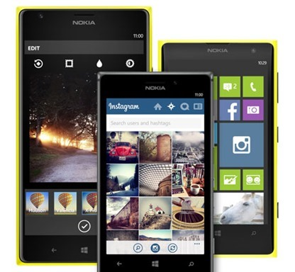 Instagram for Windows Phone Nokia Lumia