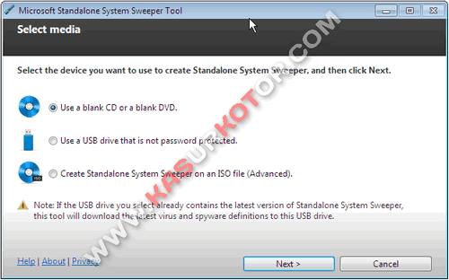 Download Microsoft Standalone System Sweeper