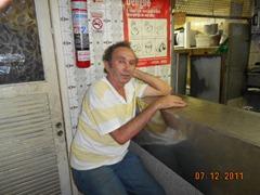 noAroldo (da banca de joirnais de fronte  à JuJu). Bar Urquiza