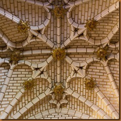 Toledo, cathedral vaulting