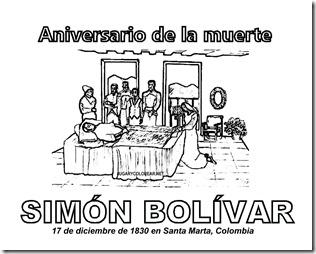muerte de simon bolivar 1