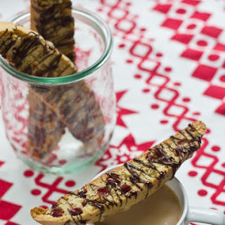 Pomegranate Biscotti