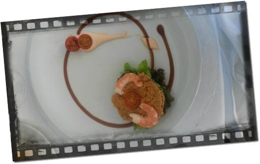 Fotografia della ricetta ensalada de txangurro y langostinos san sebastiàn paesi baschi spagna