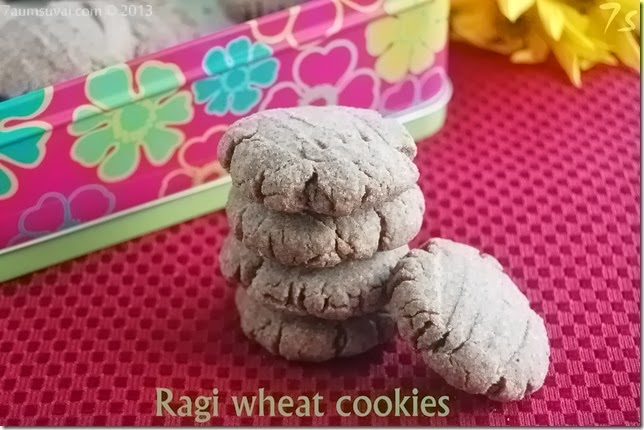 Ragi wheat cookies pic3