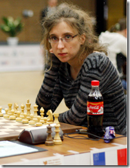Marie Sebag of France in the QF!
