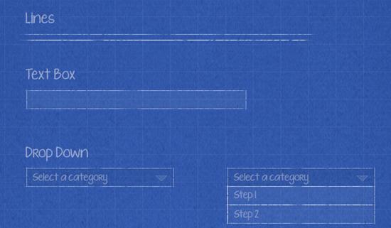 blueprint ui wireframe