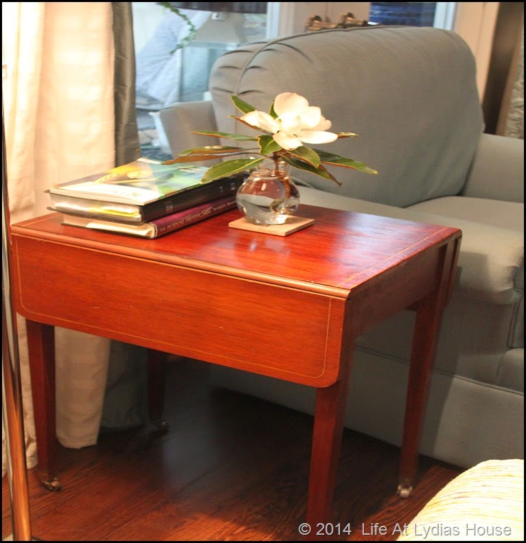 drop leaf side table 2