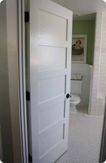 5 panel door