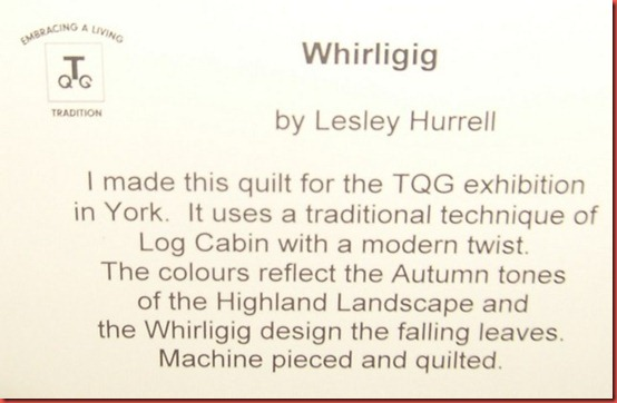 Whirligig label