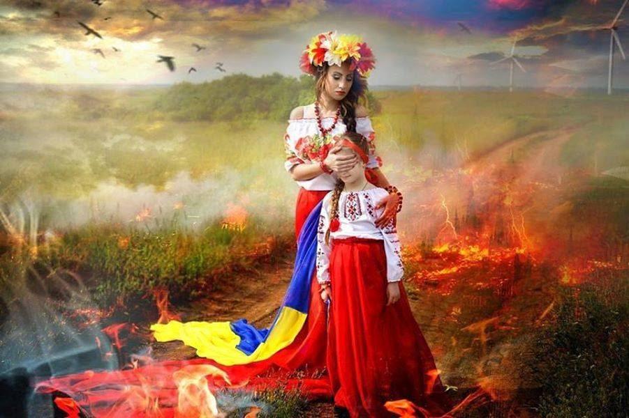 День Соборности: два берега Днепра объединили украинским флагом - Цензор.НЕТ 1484