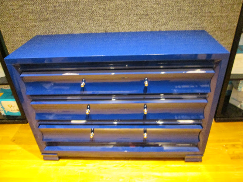 Blue Lacquered Chest