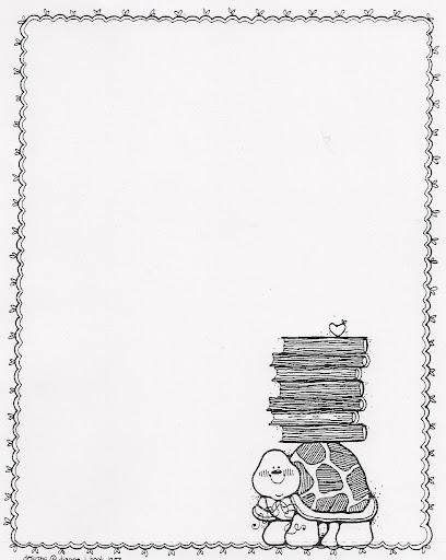 Marcos blanco y negro infantiles - Imagui