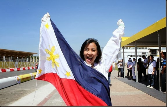 Congratulations to Bianca Gonzalez, the newly-crowned Shell FuelSave Celebrity Driver of the Year